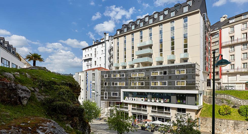 Hotel astrid Lourdes vicino al Santuario