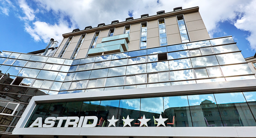 Hotel Astrid Lourdes 4 stars near Grotto
