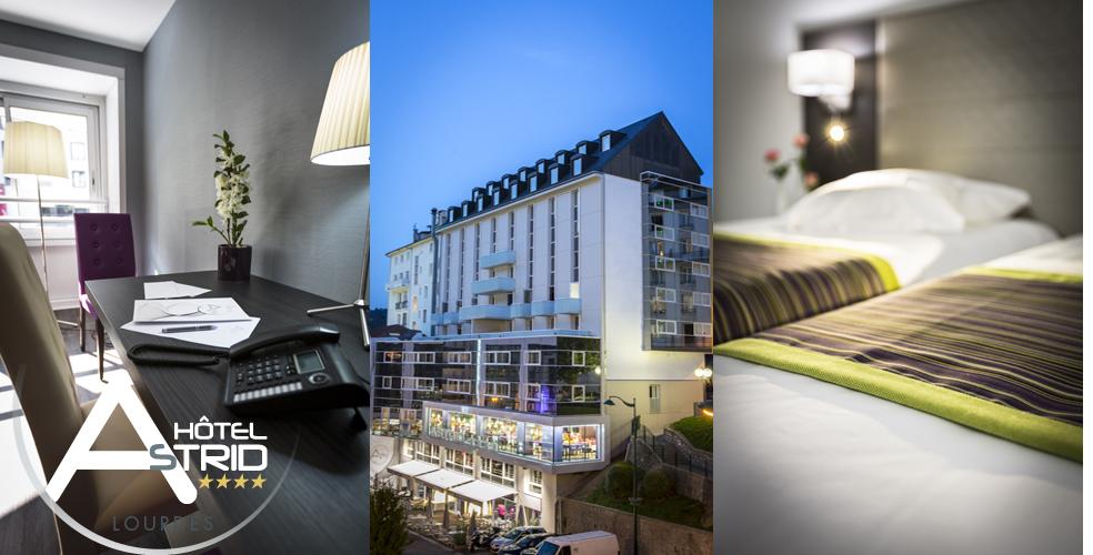 Hotel Lourdes 4 estrellas cerca de la Gruta