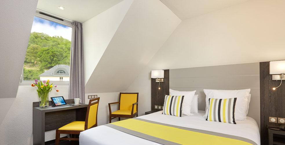 hotel astrid lourdes In der Nähe der Grotte von Lourdes