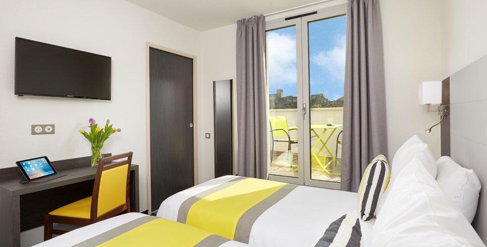 hotel astrid lourdes abitacion doble