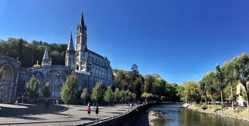 hotel astrid In der Nähe der Grotte von Lourdes
