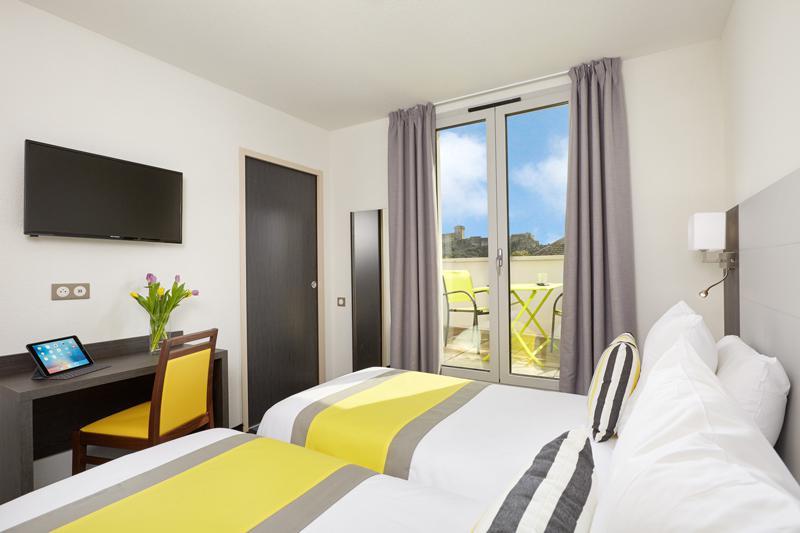 Hotel Astrid Lourdes habitacion tripla