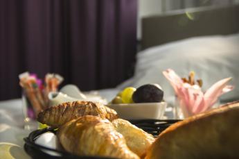 Hotel astrid Lourdes petit déjeuner buffet