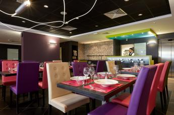 Hotel astrid Lourdes restaurante Belvedere