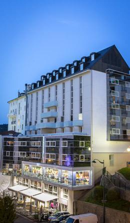 Hotel Astrid in Lourdes, Ligt naast de Grot en het Heiligdom